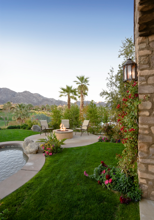 backyard landscape design bakersfield